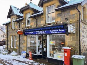 COBEN, drumnadrochit, highlands, post office