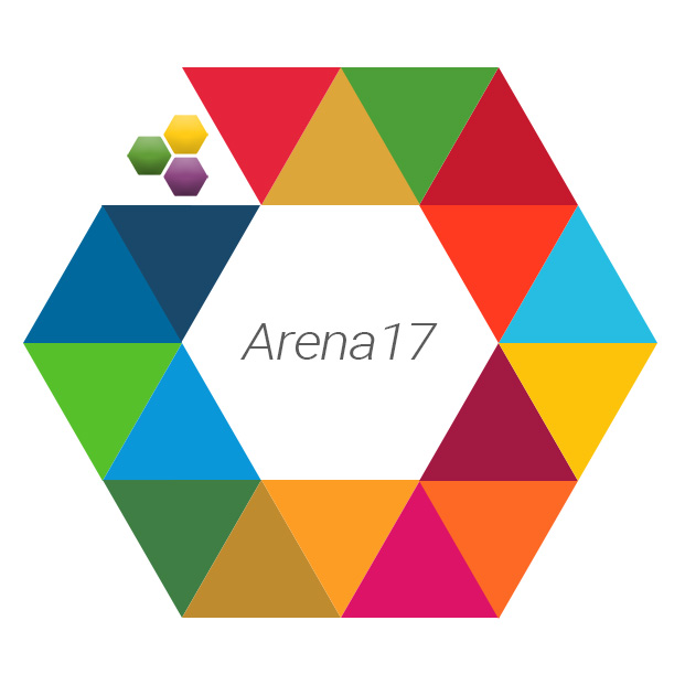 Decorative image of the theArena17 logo